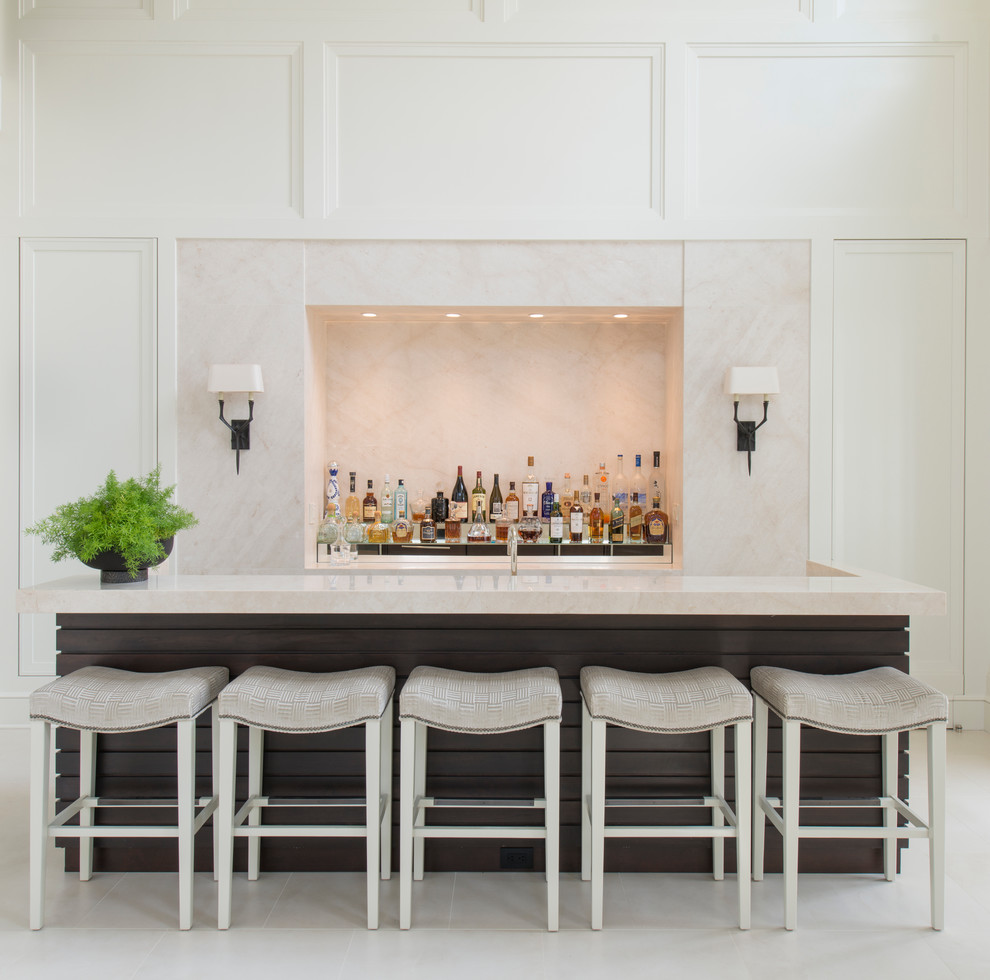 Upholstered Bar Chairs & How to Usem Them in a Luxury Interior_2