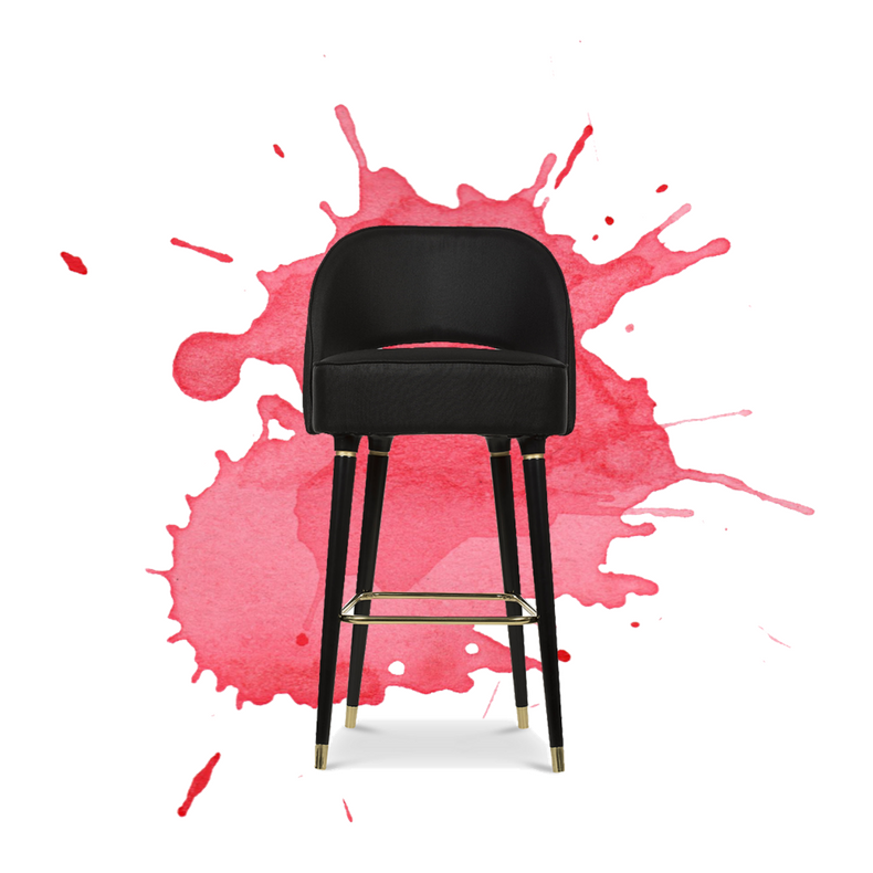 Red Bar Stools- Why Aren't You Using Them in Your Home Bar-_6