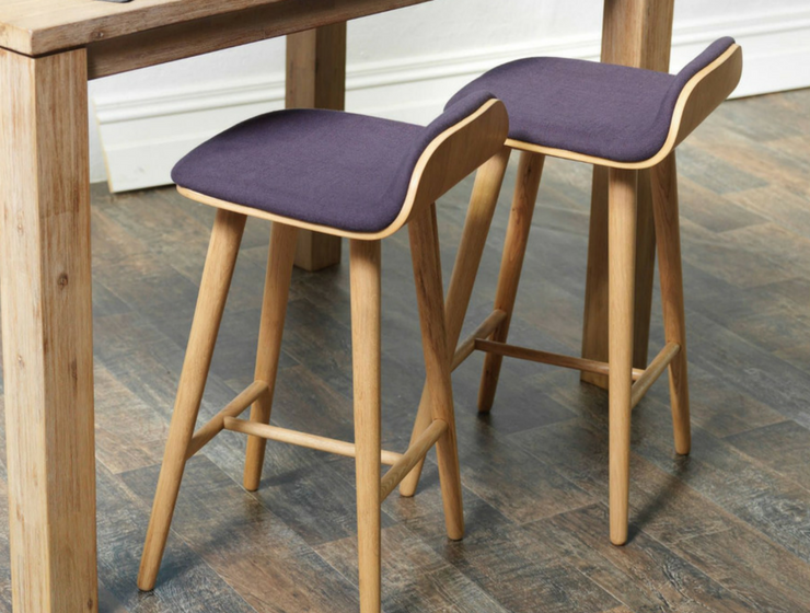 Stay Trendy in 2018 with These Ultra Violet Bar Chairs_feat