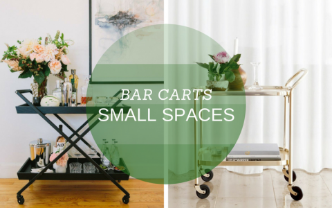 10 Bar Carts for Small Spaces That Will Change Your Decor Forever_10