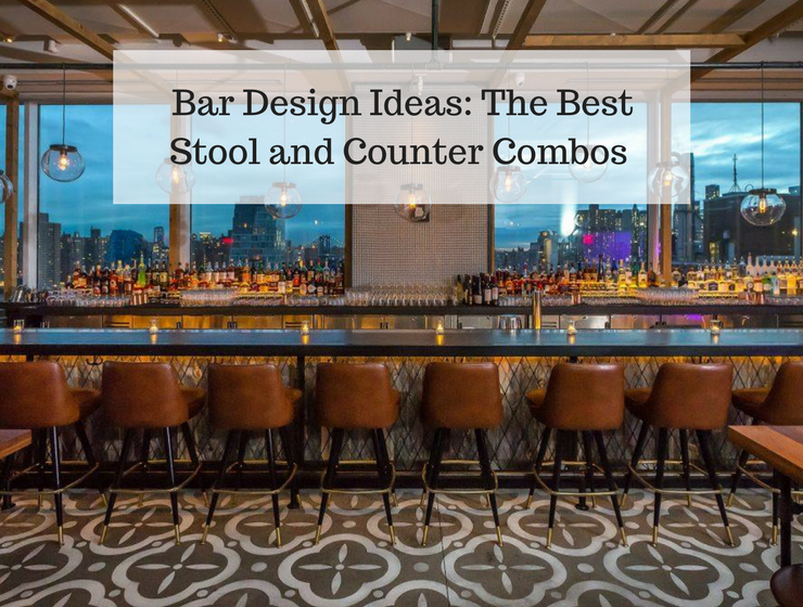 Bar Design Ideas The Best Stool and Counter Combos