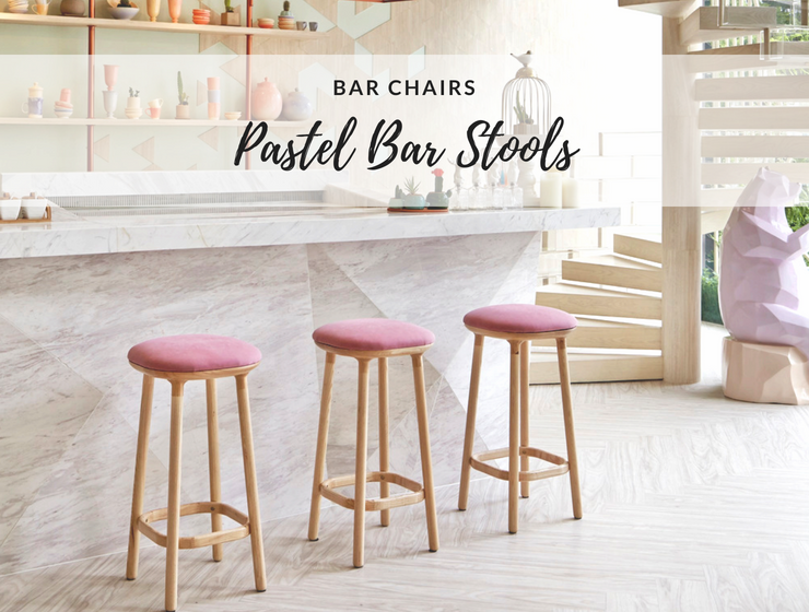 Pastel Modern Bar Stools that'll Make Your Bar Look Like Candyland_1