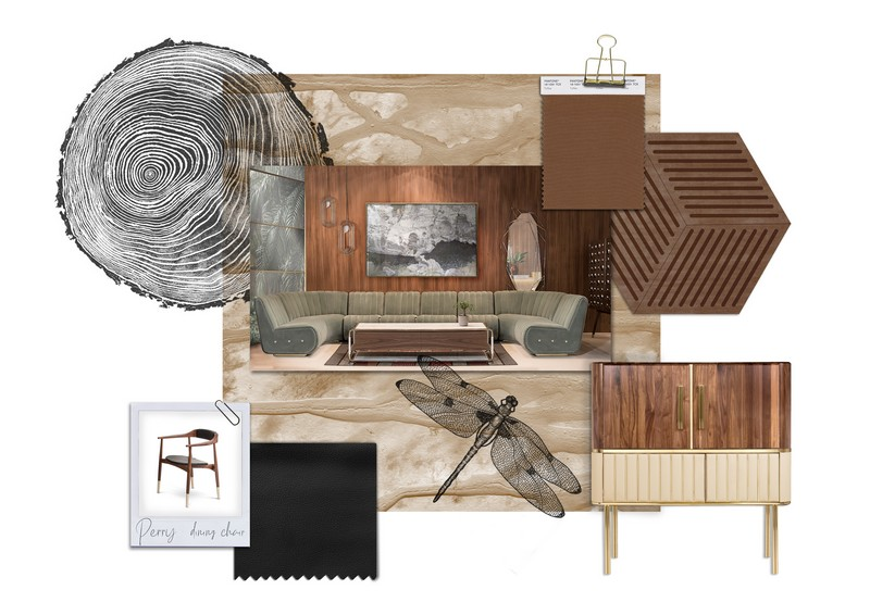 Trendy Dining Room Palette - Earthy Tones Never Go Out Of Fashion!