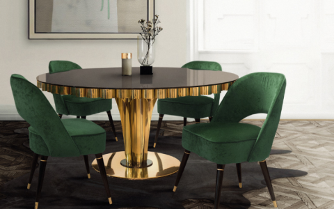 The 8 Modern Dining Tables You'll Be Having Your Favorite Meal On