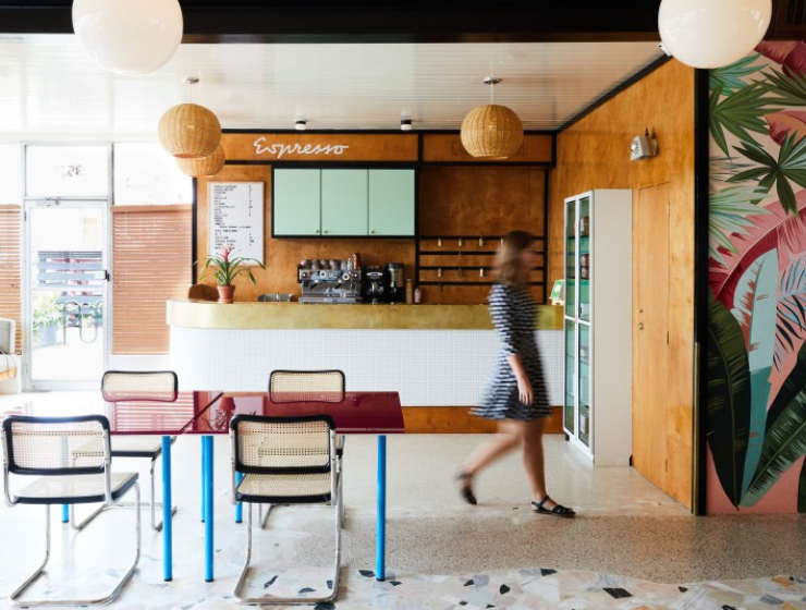 A New Orleans Restaurant With An Incredible Mid-Century Modern Design