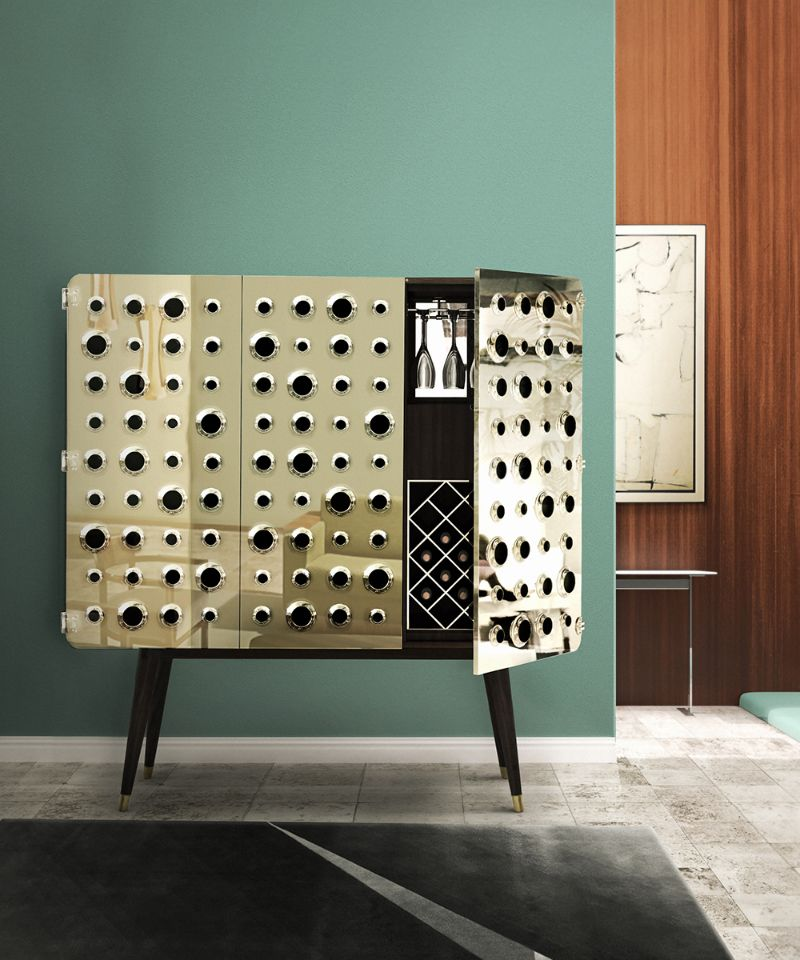 These Are The Modern Cabinets You Need For Your Home Bar Right Now_1 (1)