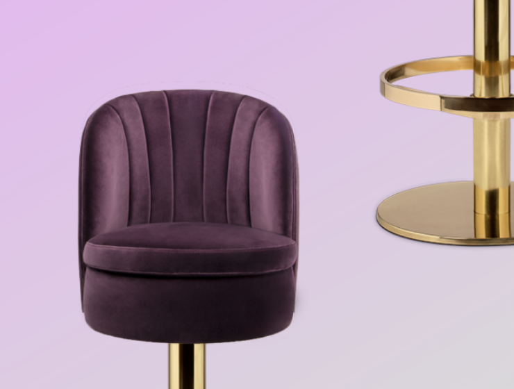 A Contemporary Bar Chair For Any Home Bar & How To Style It_feat