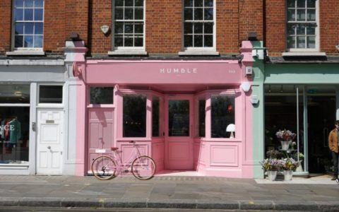 The All Pink London Restaurant From Child Studio