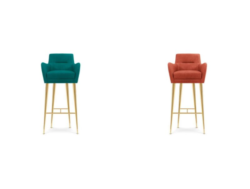 8 Mid-Century Modern Bar Stools For Any Glam Bar