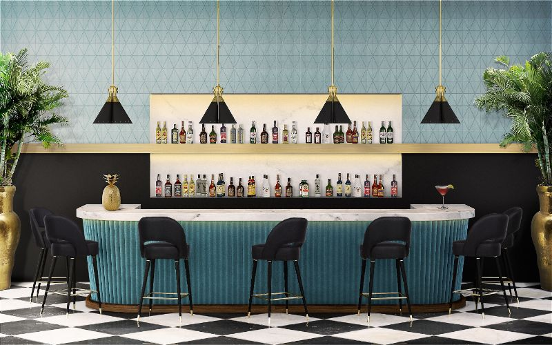6 Essential Mid-Century Modern Furniture Items You Need In Your Bar Decor