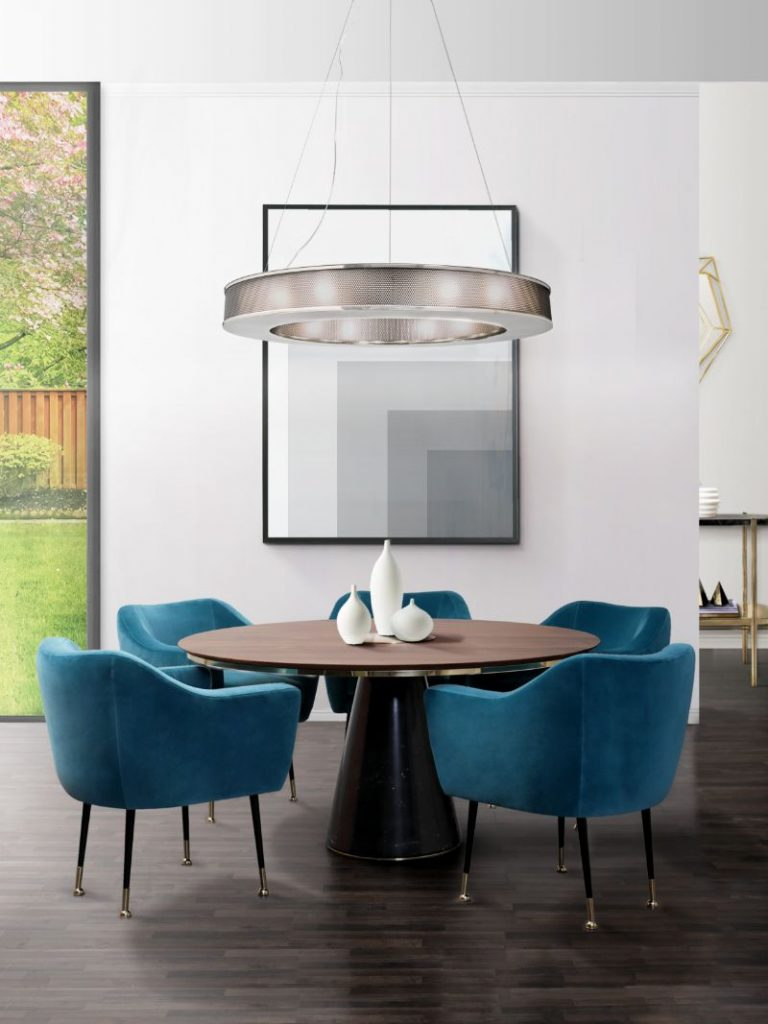 5 Statement Mid-Century Dining Tables