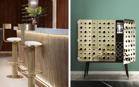 Here Are 6 Essentials You Need for the Perfect Home Bar Decor_feat