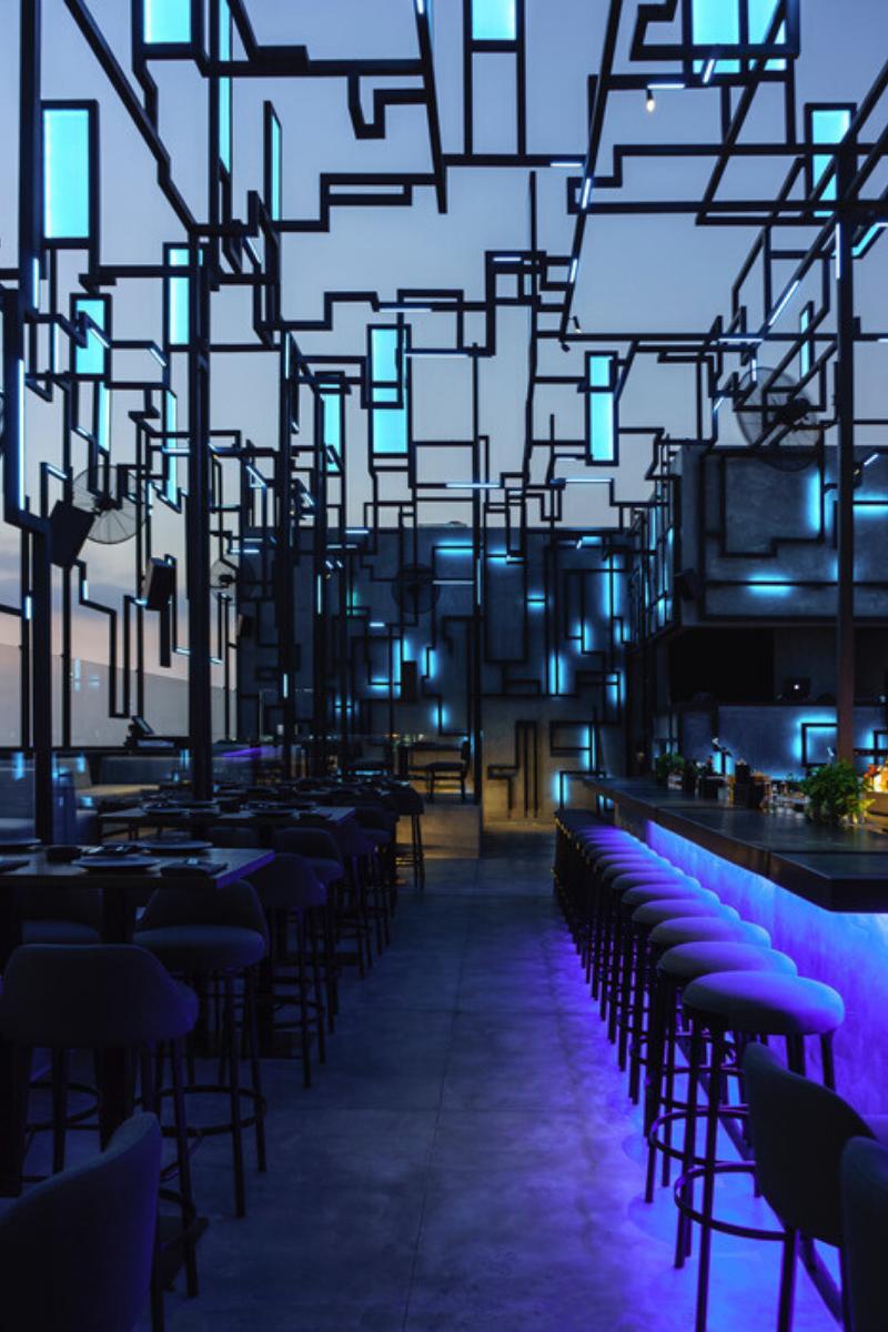 SPINE Beirut_ A Futuristic Restaurant Design Like Never Seen Before!_2