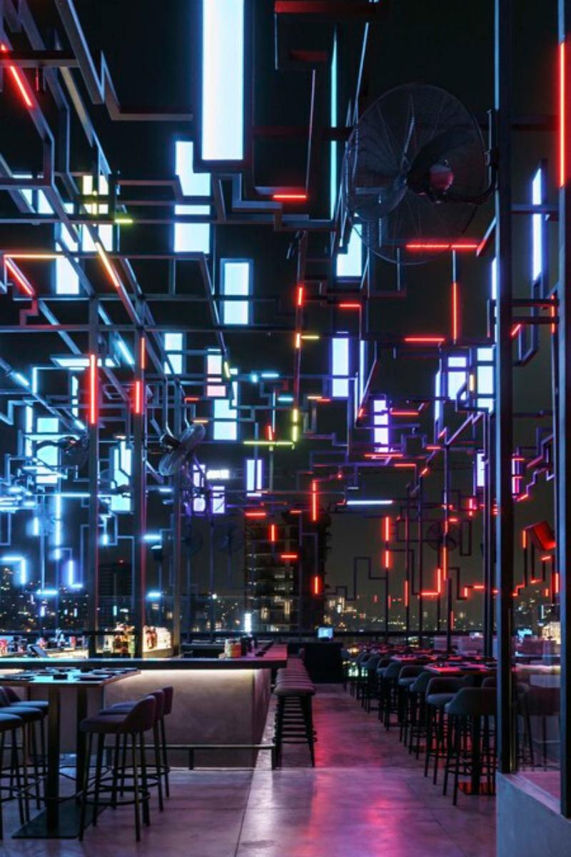 SPINE Beirut_ A Futuristic Restaurant Design Like Never Seen Before!_3