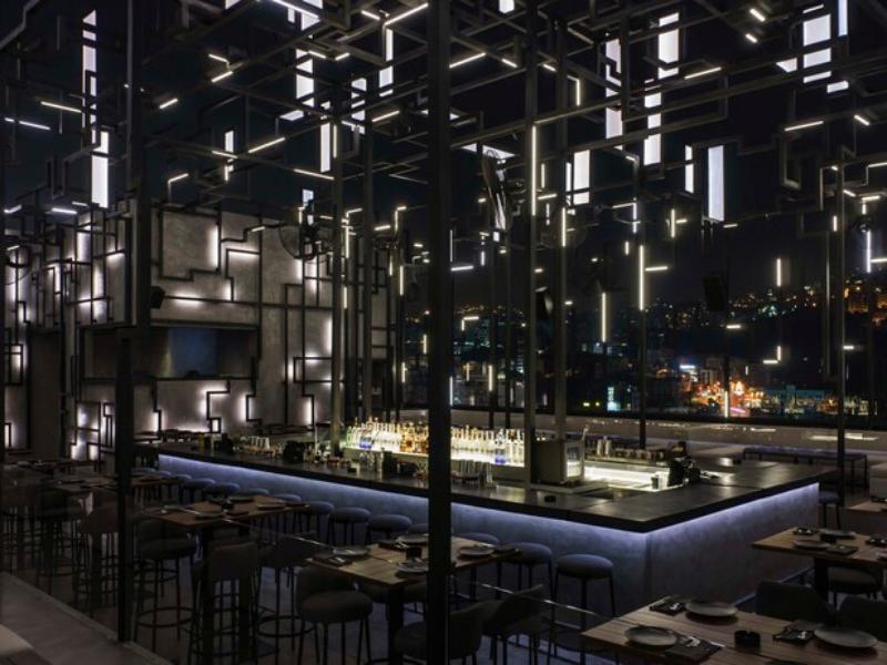 SPINE Beirut_ A Futuristic Restaurant Design Like Never Seen Before!_5