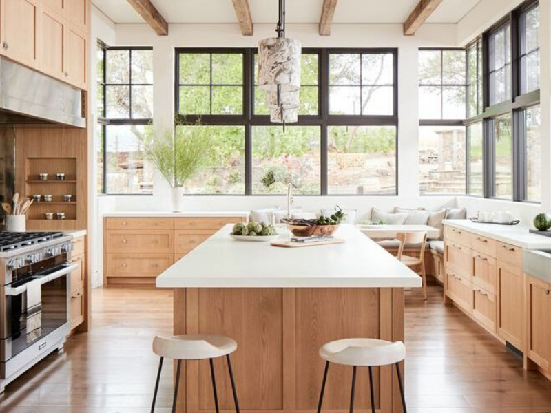 These 8 Charming Wood Kitchens Are Taking Over Pinterest!_5