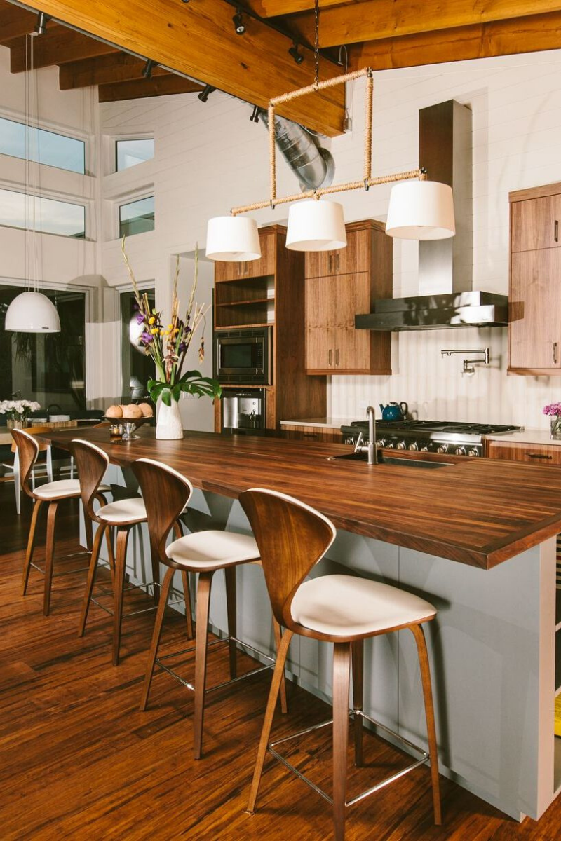 These 8 Charming Wood Kitchens Are Taking Over Pinterest!_6