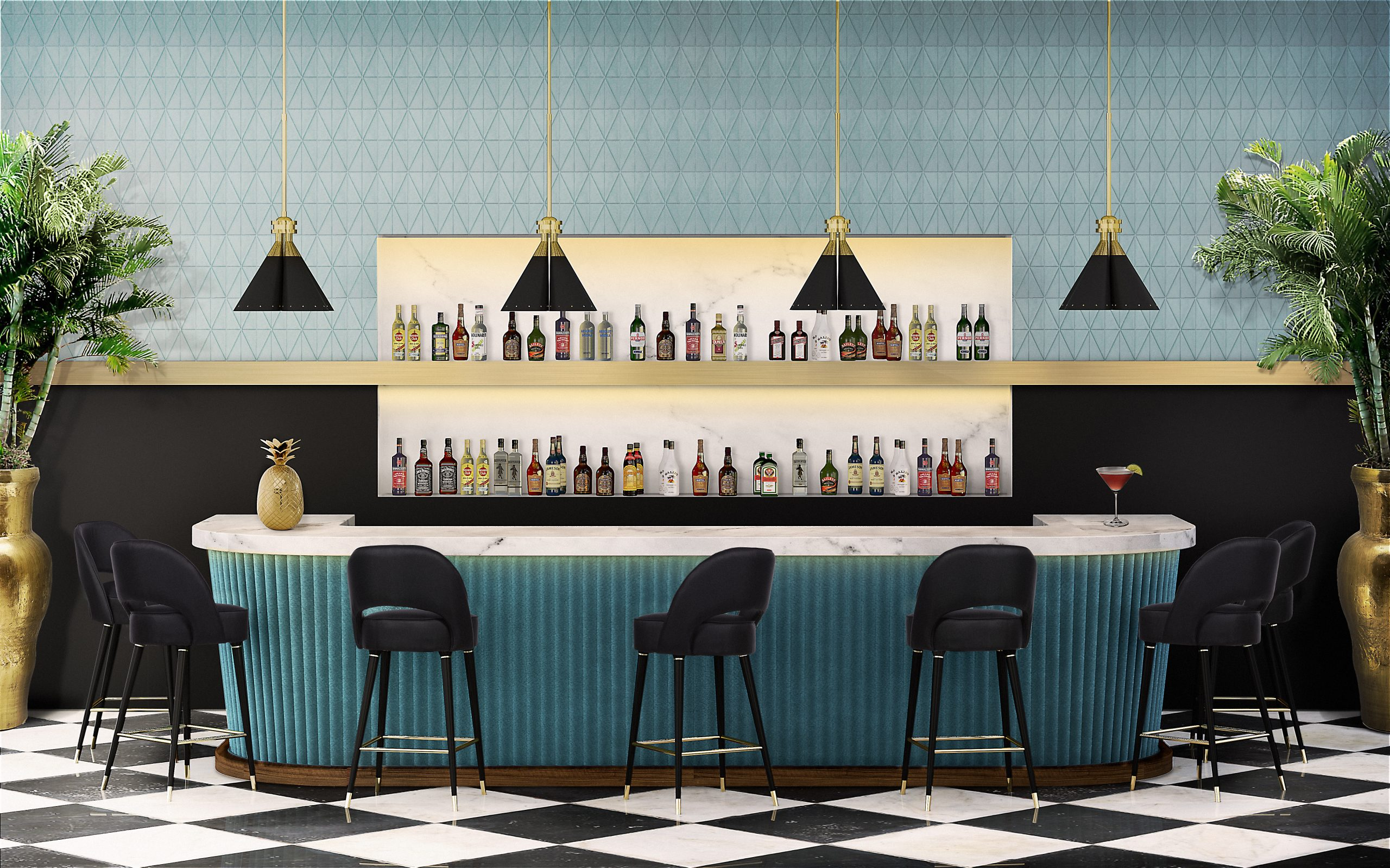🔝Top Bar Design Trends 2020. Discover The Ultimate Ideas For Your Interns! 5