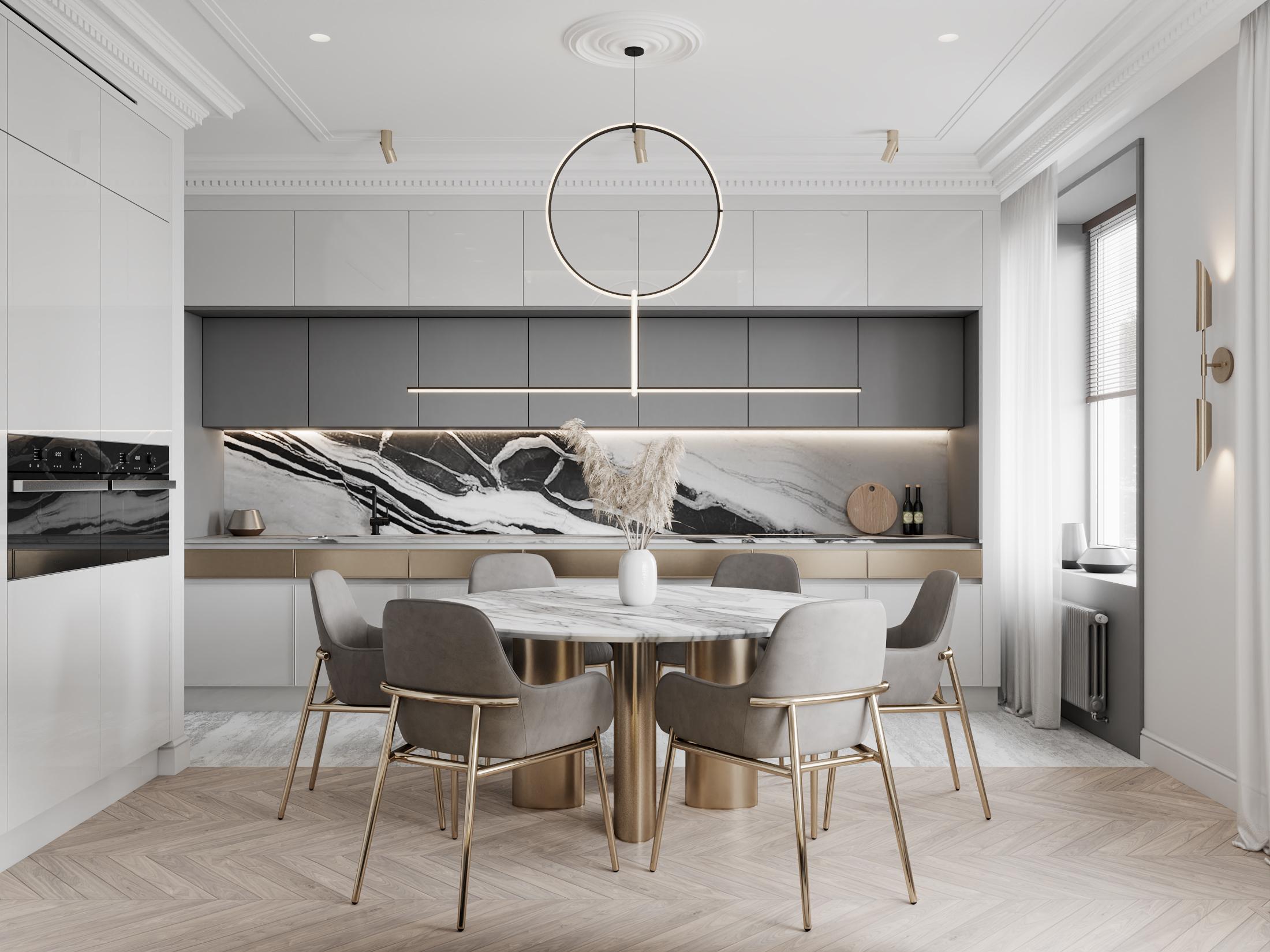DE & DE Incredible Dining Room Designs By A Top Design Studio_1