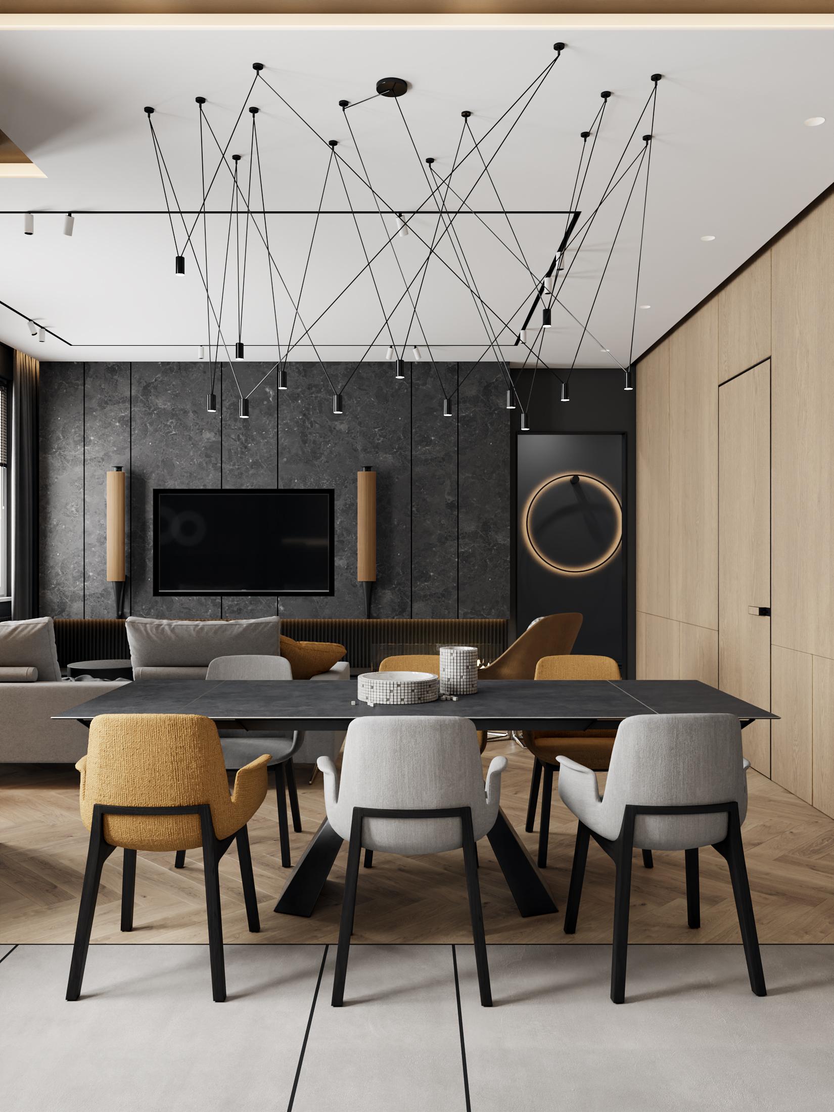 DE & DE Incredible Dining Room Designs By A Top Design Studio_2