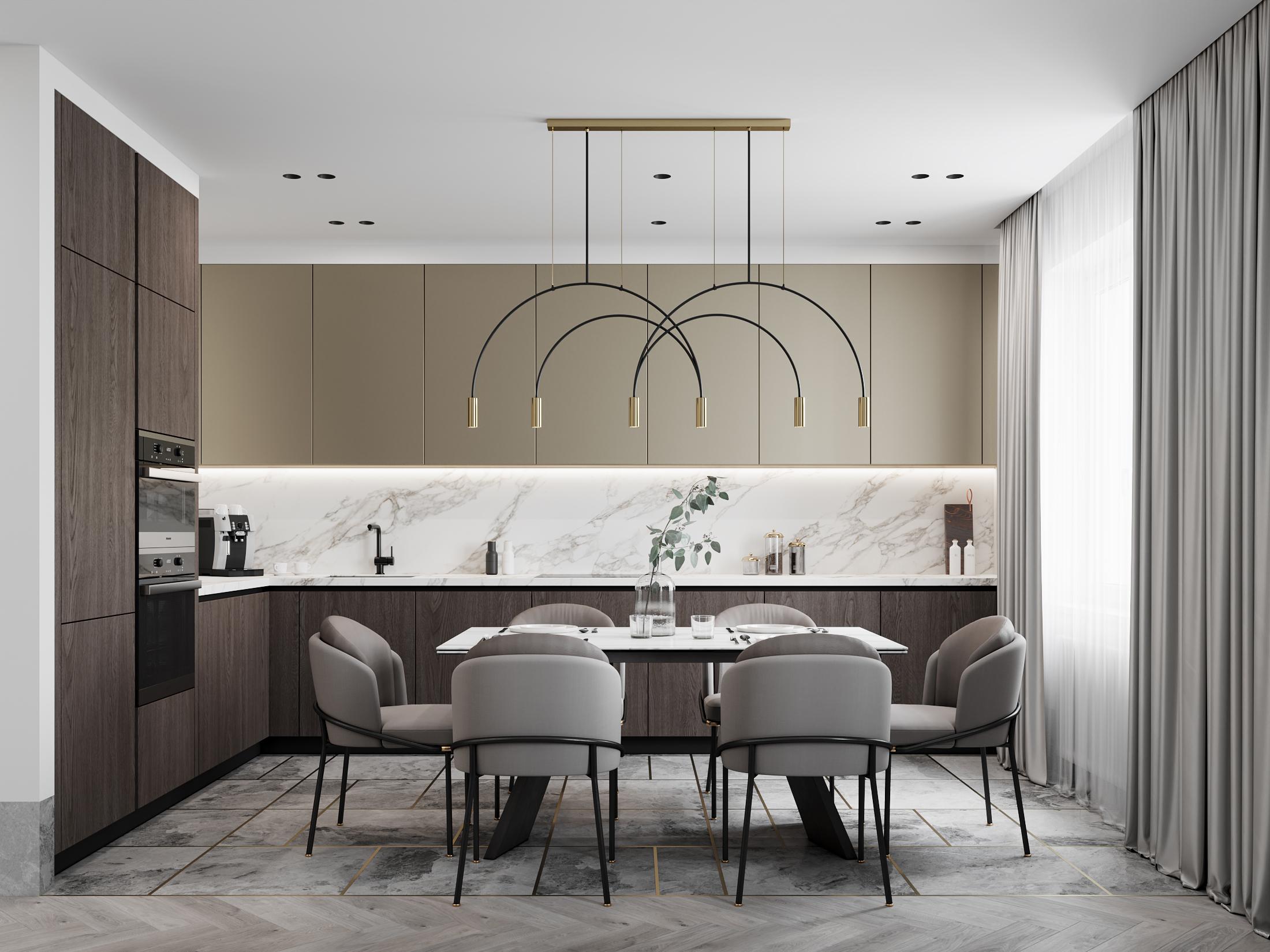 DE & DE Incredible Dining Room Designs By A Top Design Studio_3