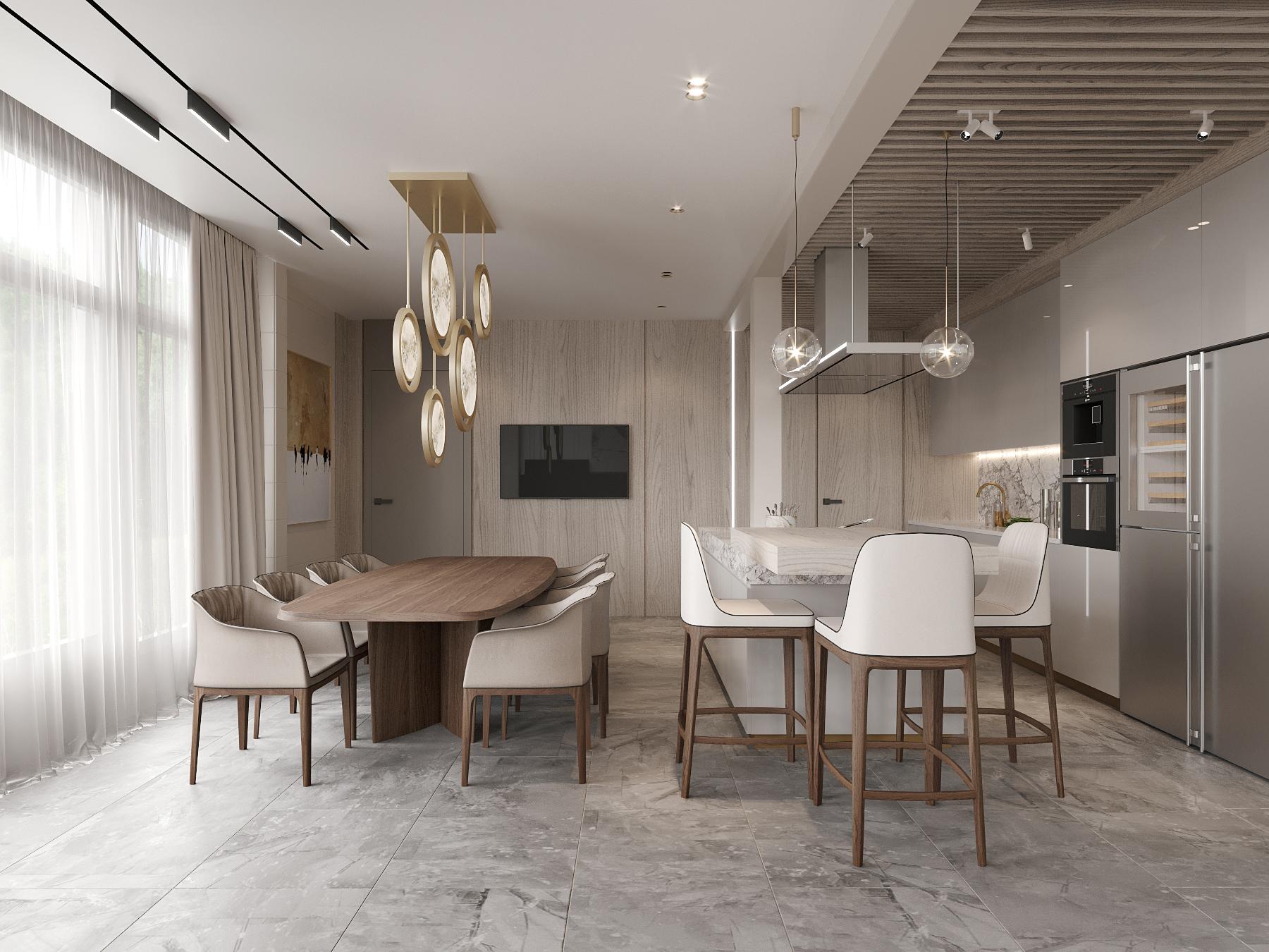 DE & DE Incredible Dining Room Designs By A Top Design Studio_4