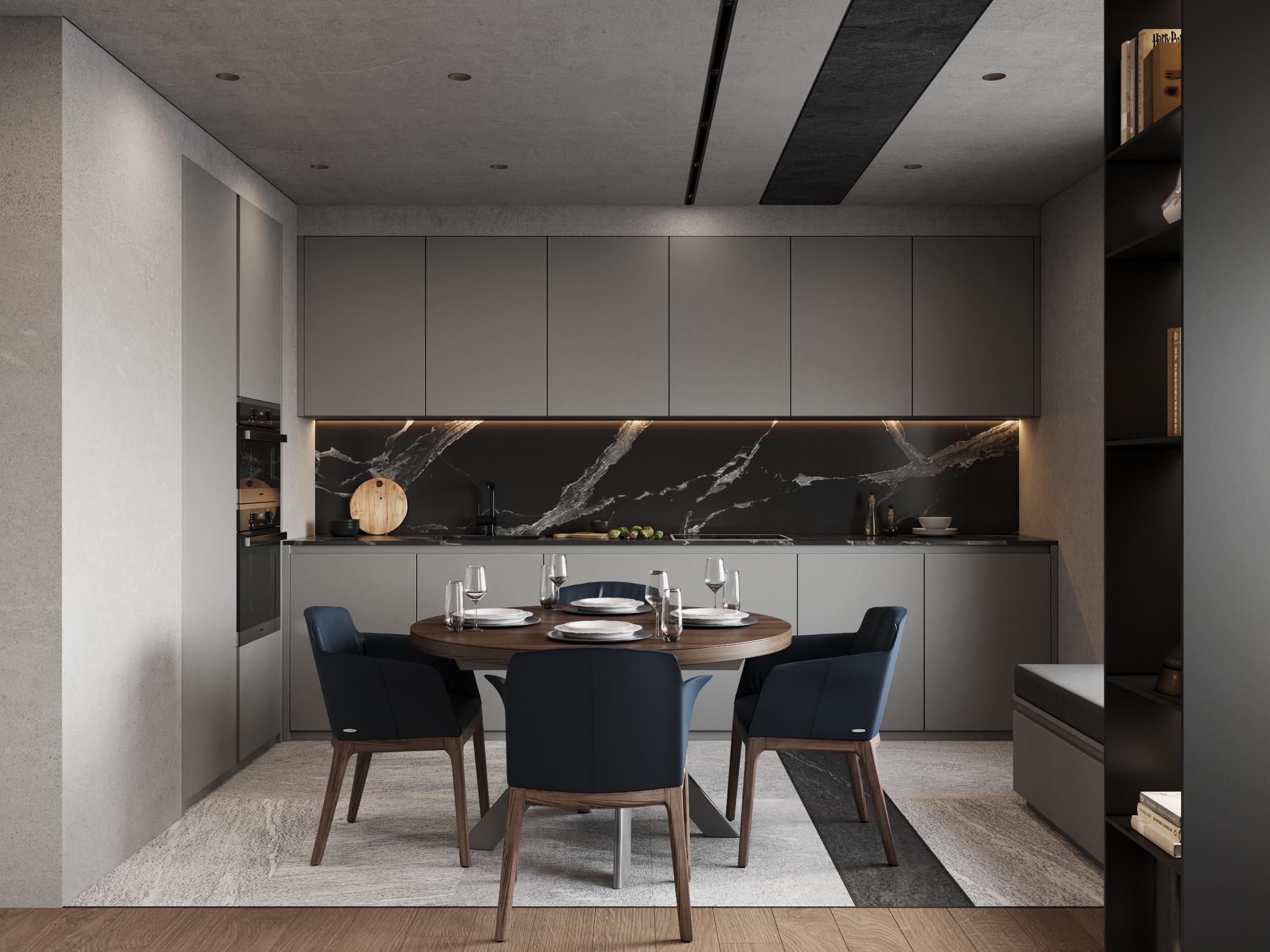 DE & DE Incredible Dining Room Designs By A Top Design Studio_5