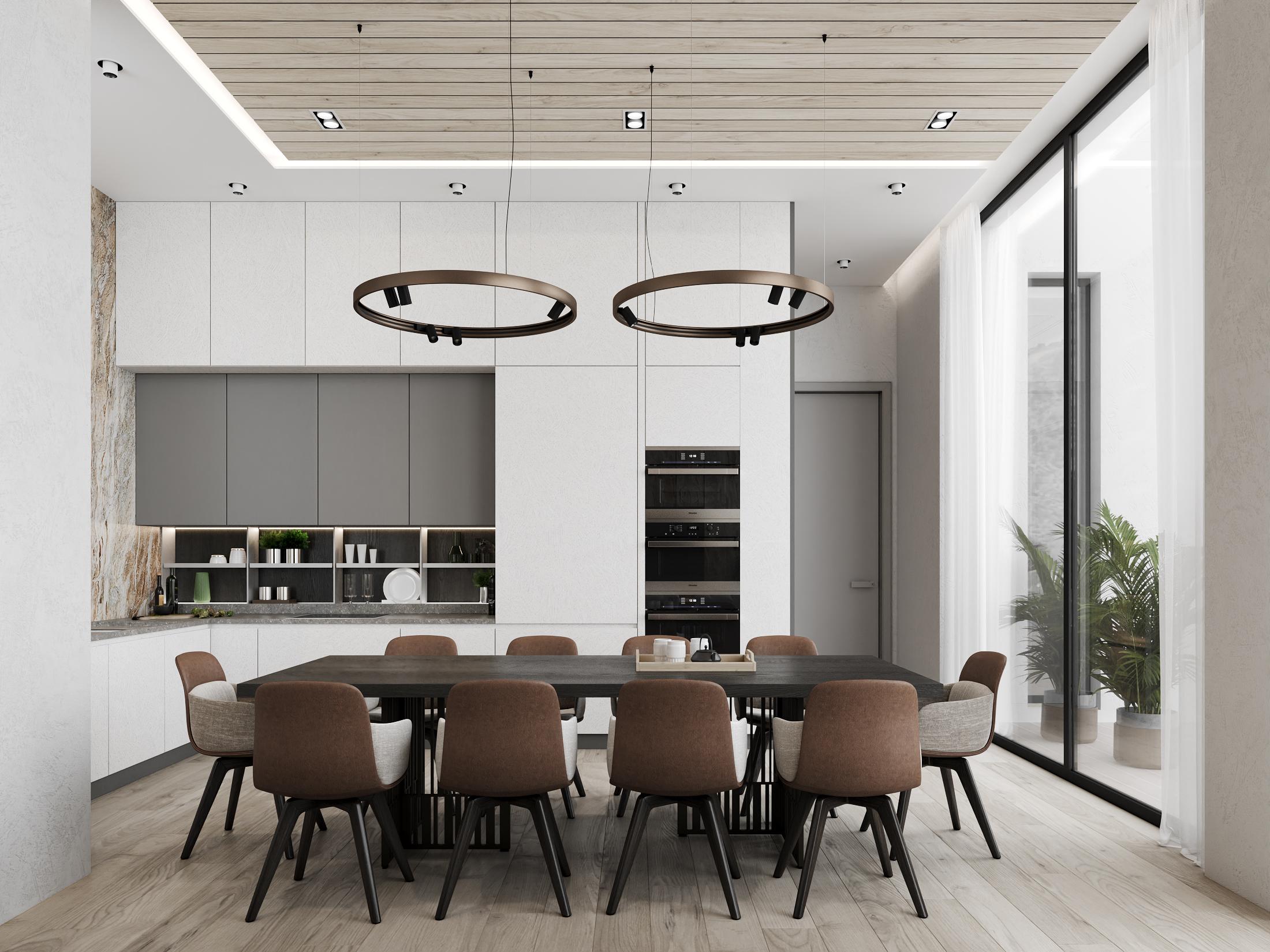 DE & DE Incredible Dining Room Designs By A Top Design Studio_6