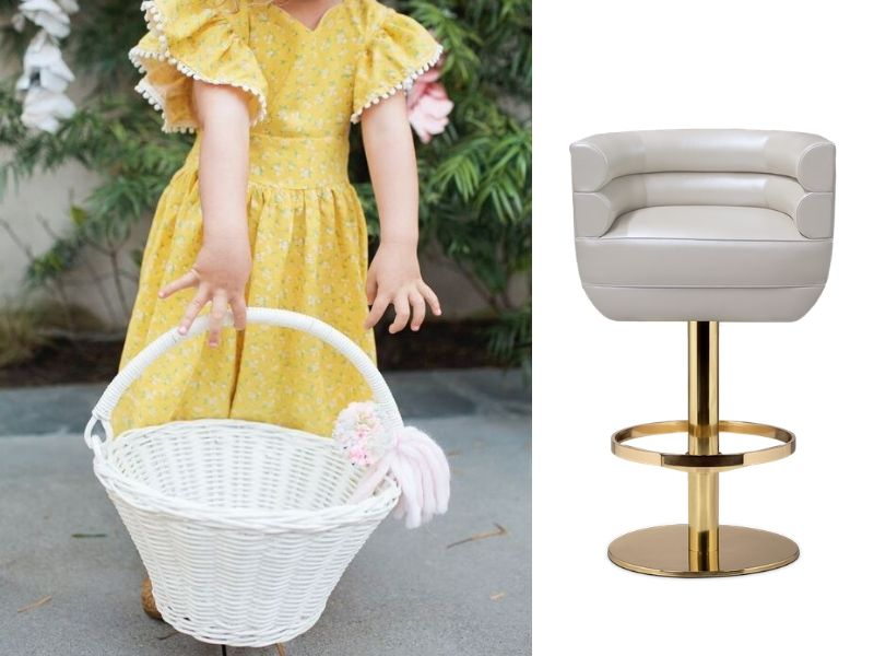 Celebrating Easter in Quarantine - Check these barstool ideas