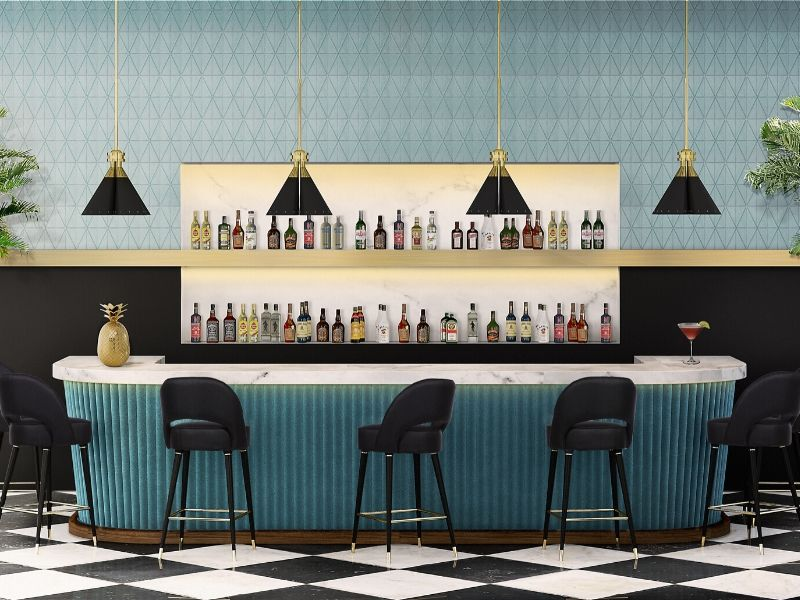 Quarantine read: Not only good looking but also comfortable bar chair inspiration