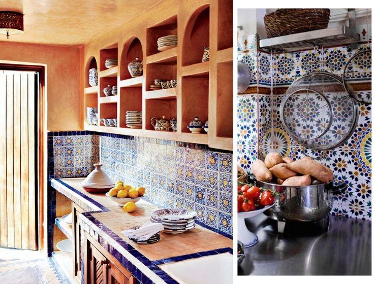 Arabic kitchen decor