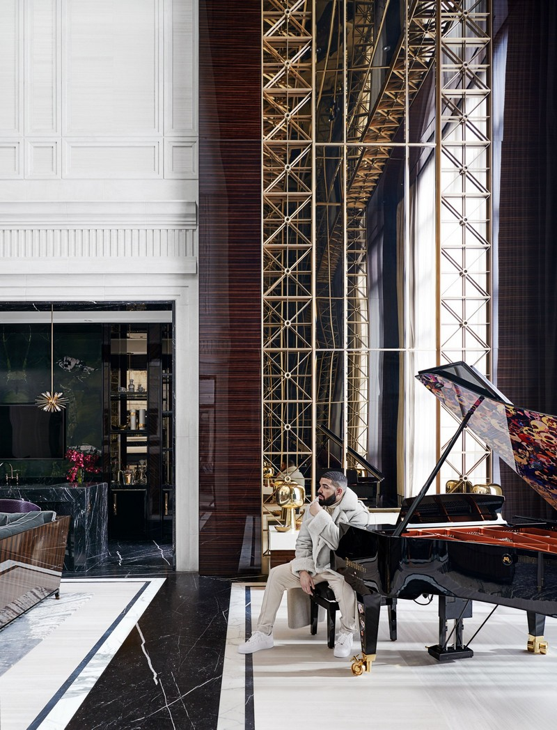 Get Inside Drake's Manor House With A Luxurious Architectural Design