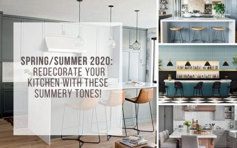Redecorate Your Kitchen With These Summery Tones!