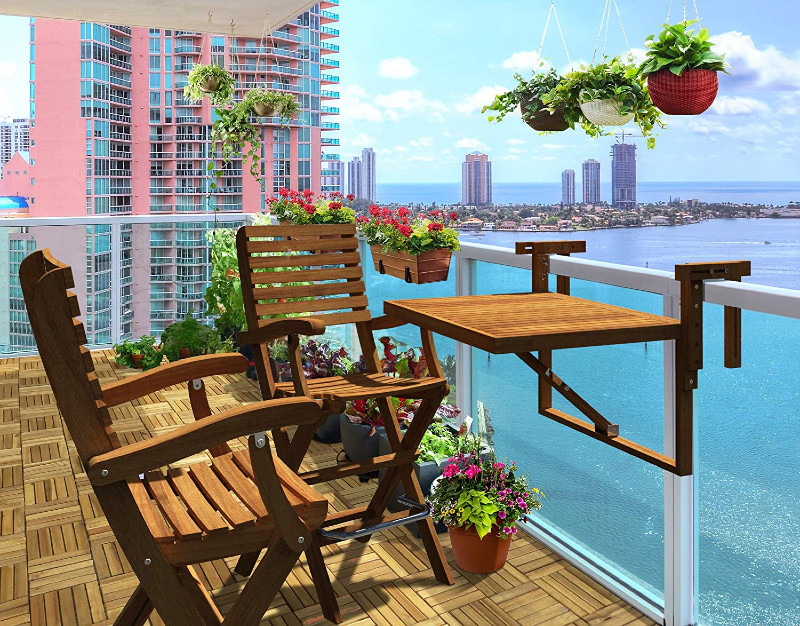 5 Steps To An Incredible Balcony Décor!