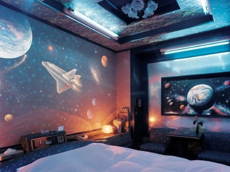Bring The Marvelous Space Themed Design World Into Your Interior With These Tips
