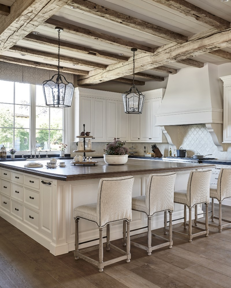How to create a French Country kitchen in just 3 steps!