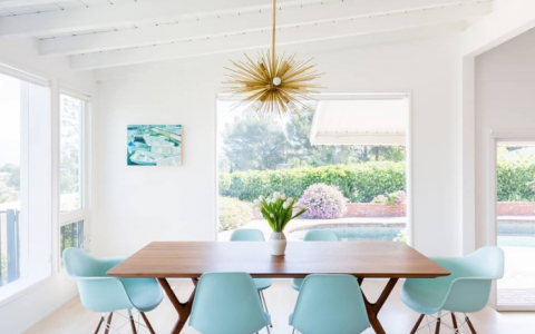 10 Inspiring Mid-Century Dining Room Ideas