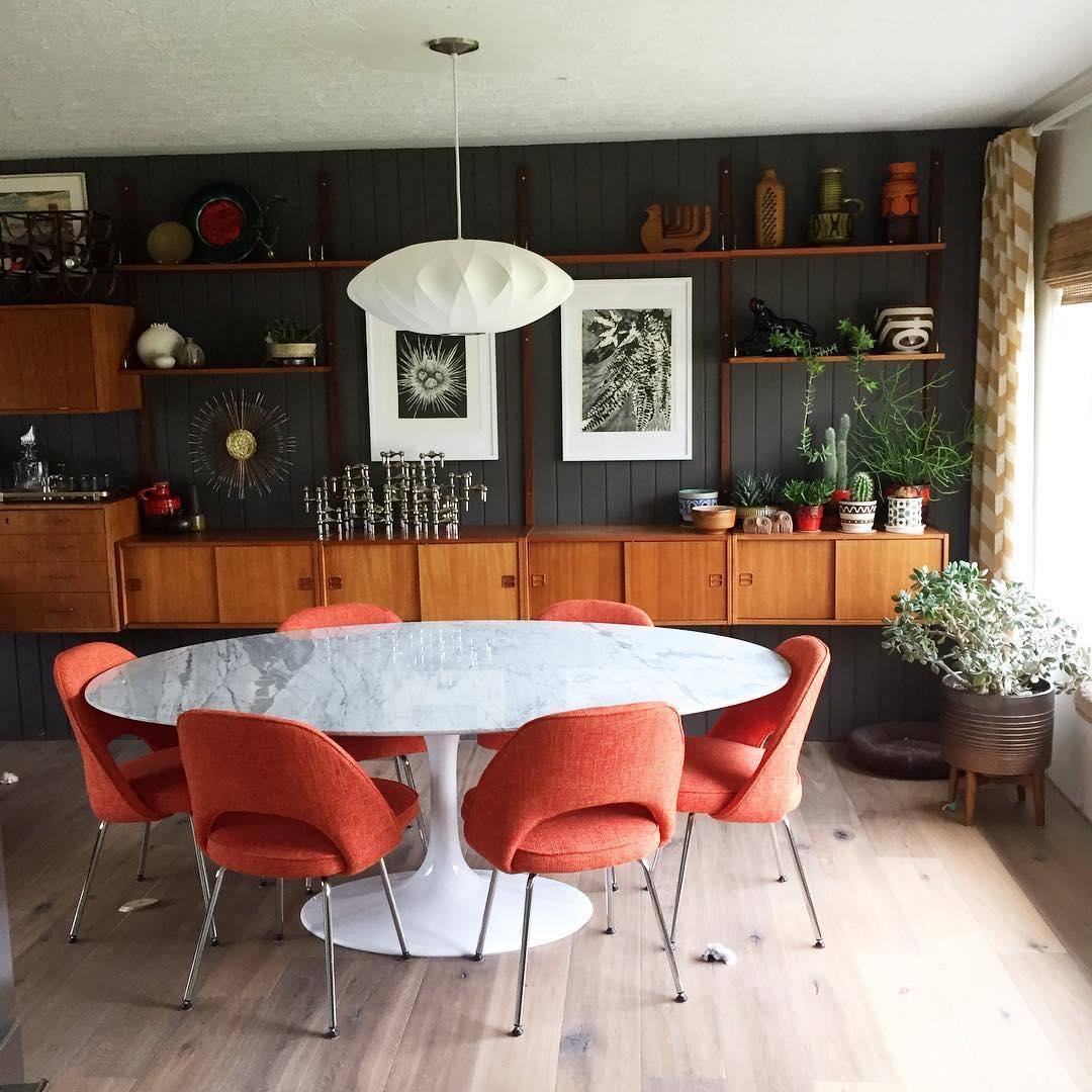 10 Inspiring Mid-Century Dining Room Ideas_1