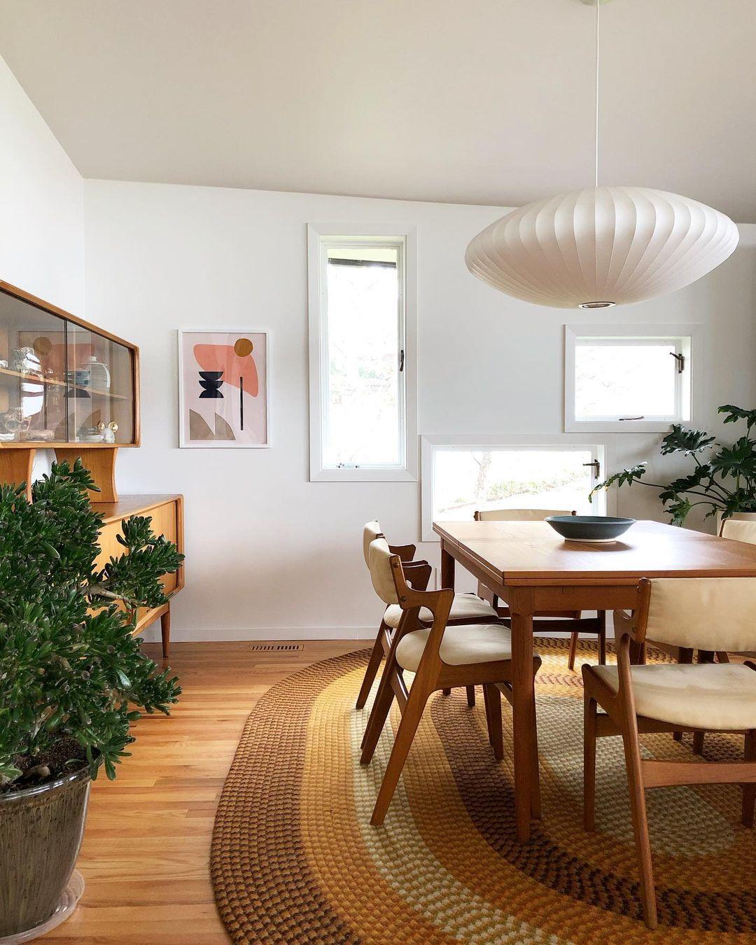 10 Inspiring Mid-Century Dining Room Ideas_10