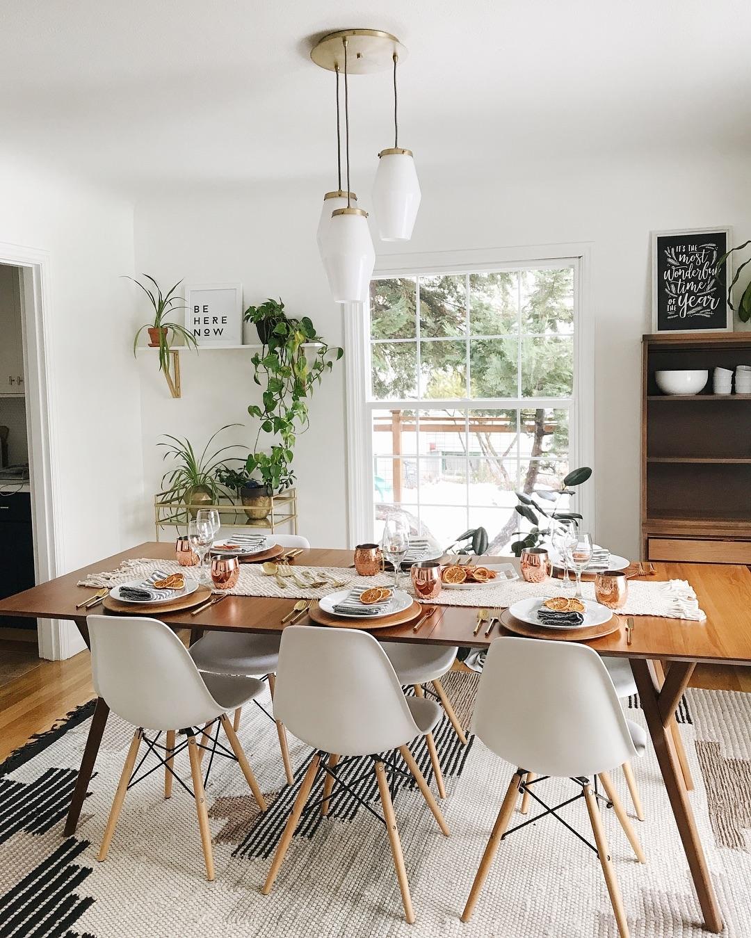 10 Inspiring Mid-Century Dining Room Ideas_3