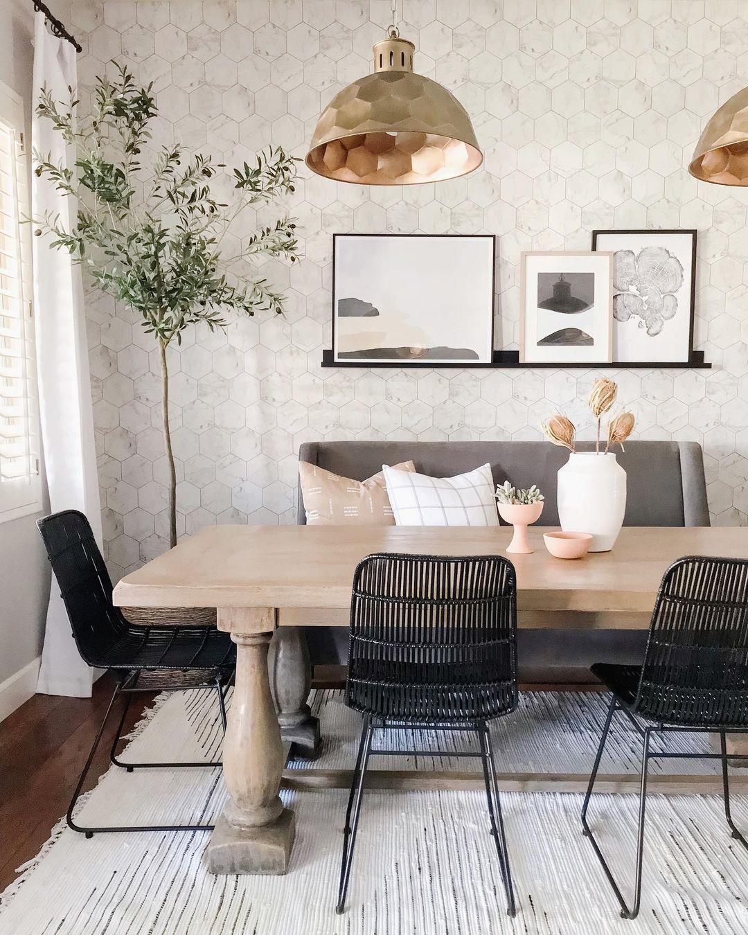10 Inspiring Mid-Century Dining Room Ideas_4