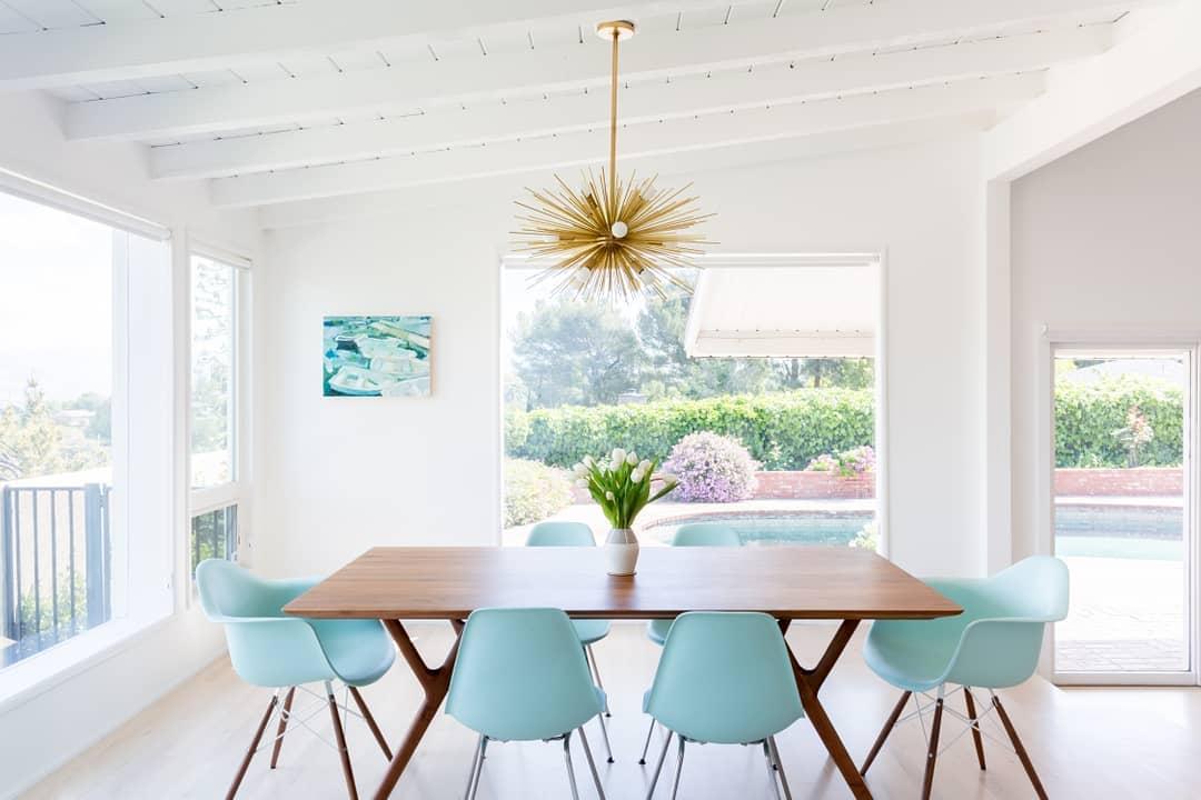 10 Inspiring Mid-Century Dining Room Ideas_7