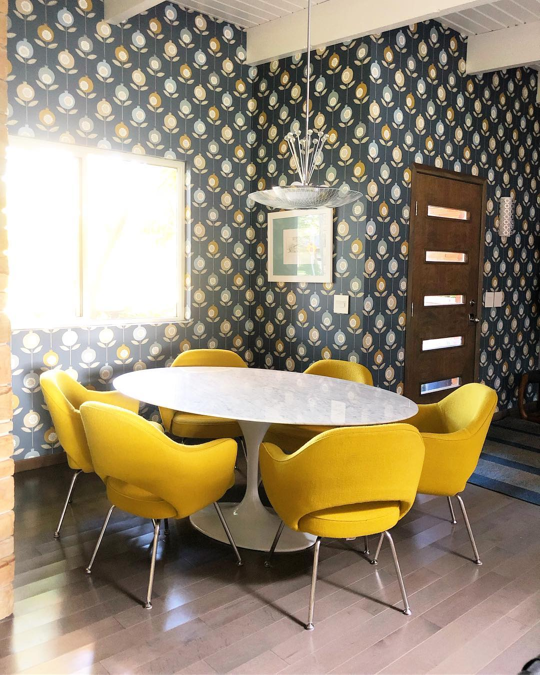 10 Inspiring Mid-Century Dining Room Ideas_8
