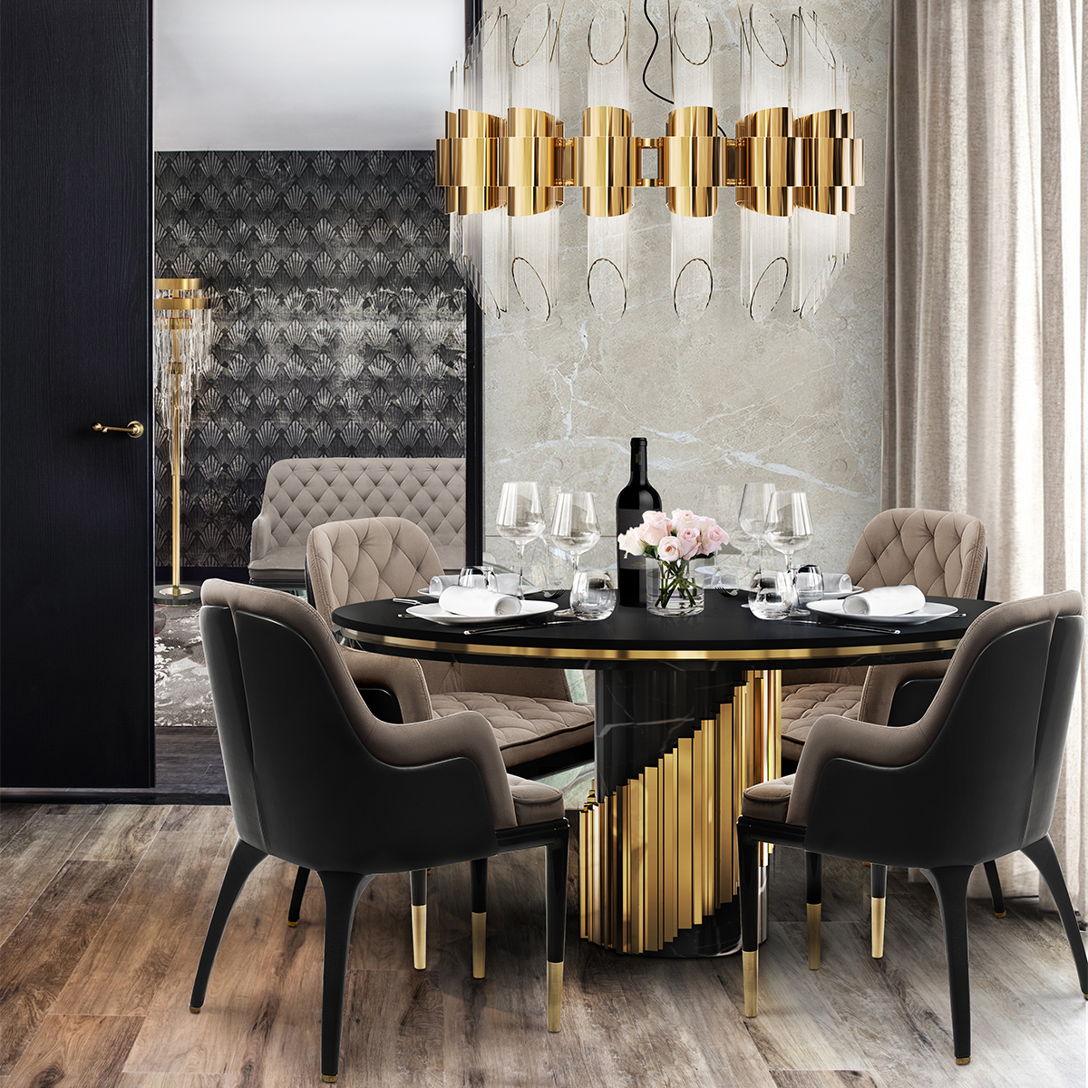 More 20 Luxury Dining Tables That Are Perfect For Your Home_12