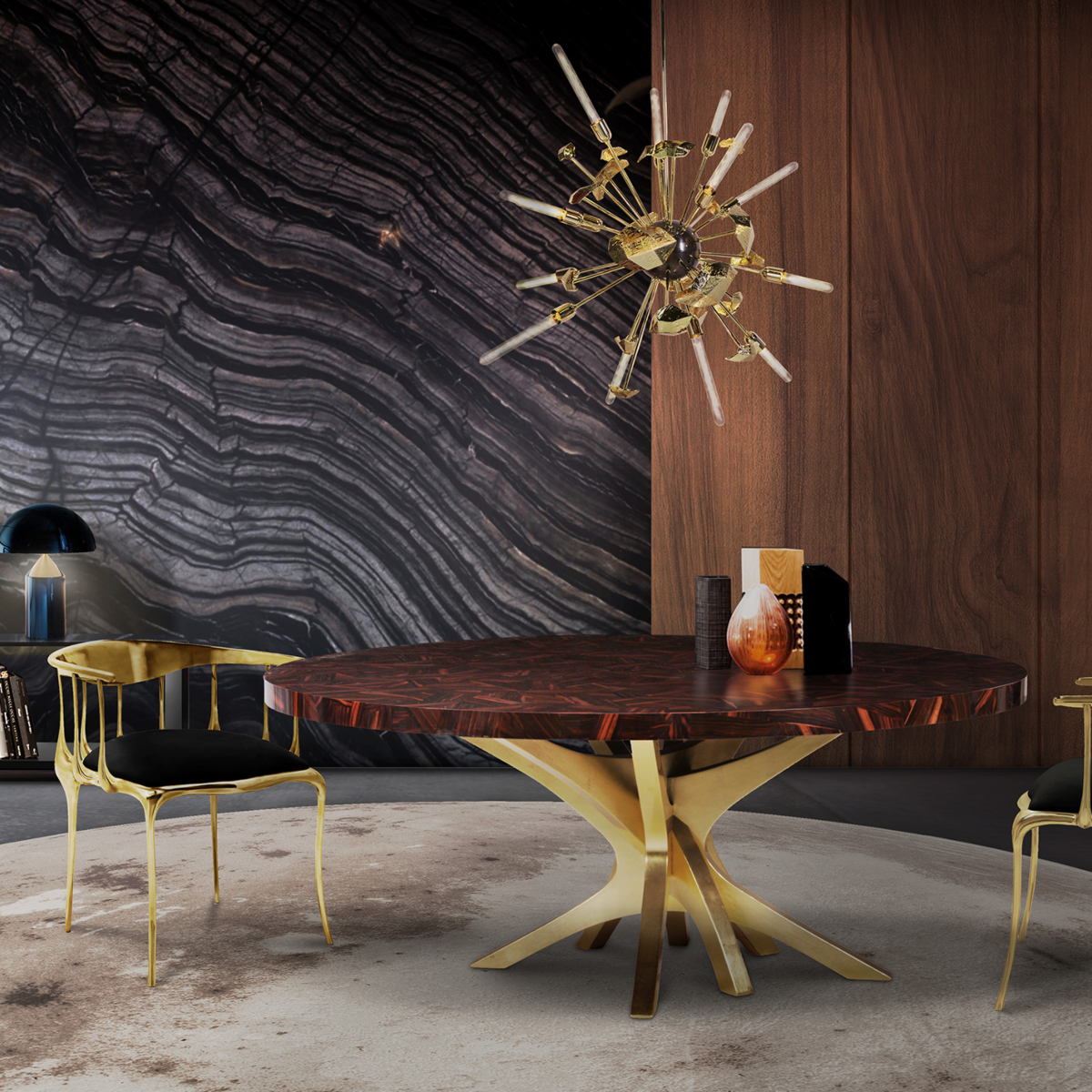 More 20 Luxury Dining Tables That Are Perfect For Your Home_15