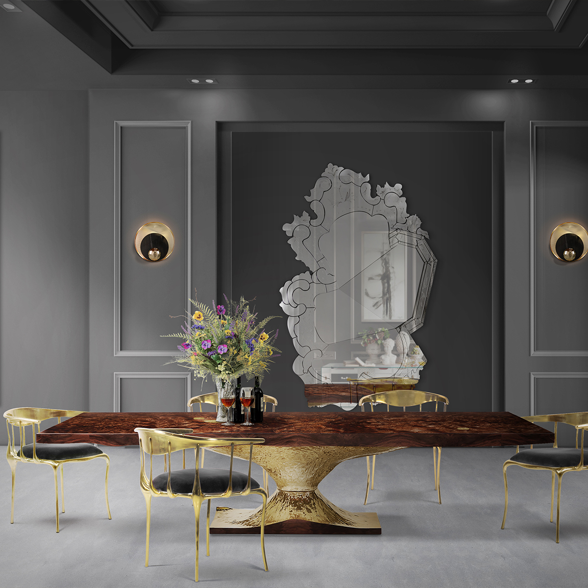 More 20 Luxury Dining Tables That Are Perfect For Your Home_21
