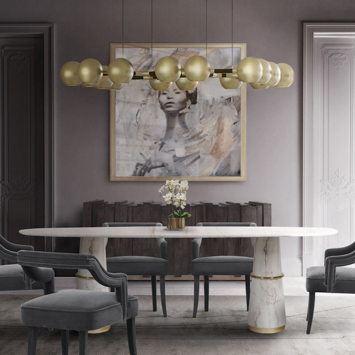 These 25 Luxury Dining Tables Are Perfect For Your Home_12