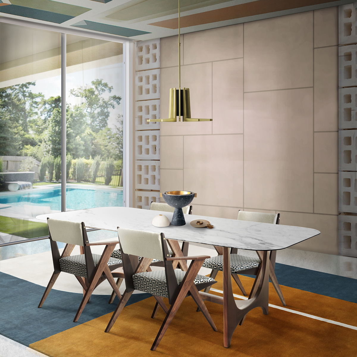 These 25 Luxury Dining Tables Are Perfect For Your Home_2