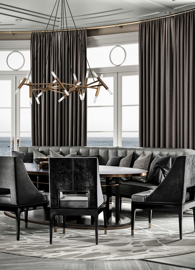 Magnificient Dining Rooms By Ferris Rafauli_4