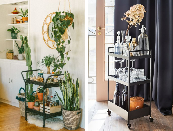 BSF 5 Fool-Proof Ways To Make Your Bar Cart Look Expensive